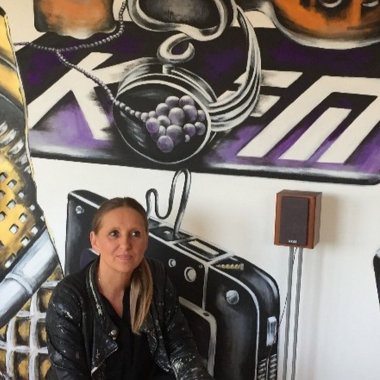 Cette artiste dijonnaise va peindre les halls d'immeuble