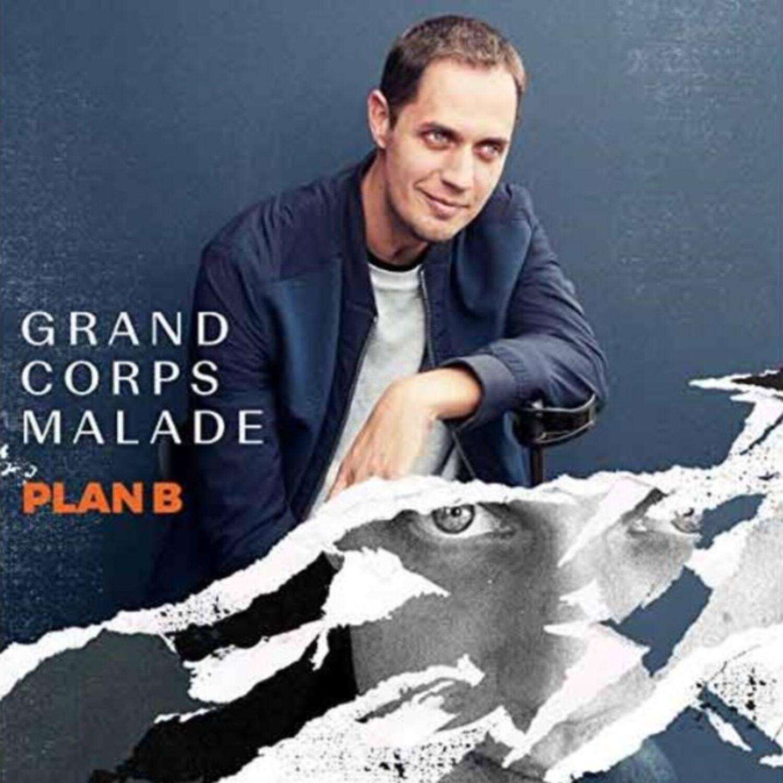 Plan B, le nouvel album de Grand Corps Malade est sorti ce 16 février