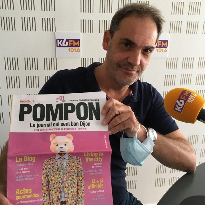 Zoom sur le nouveau journal dijonnais « Pompon »