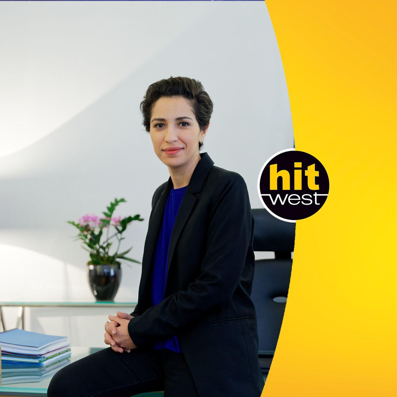 Invitée spéciale ce midi : la secrétaire d'état à la jeunesse…la nantaise Sarah El Haïry…