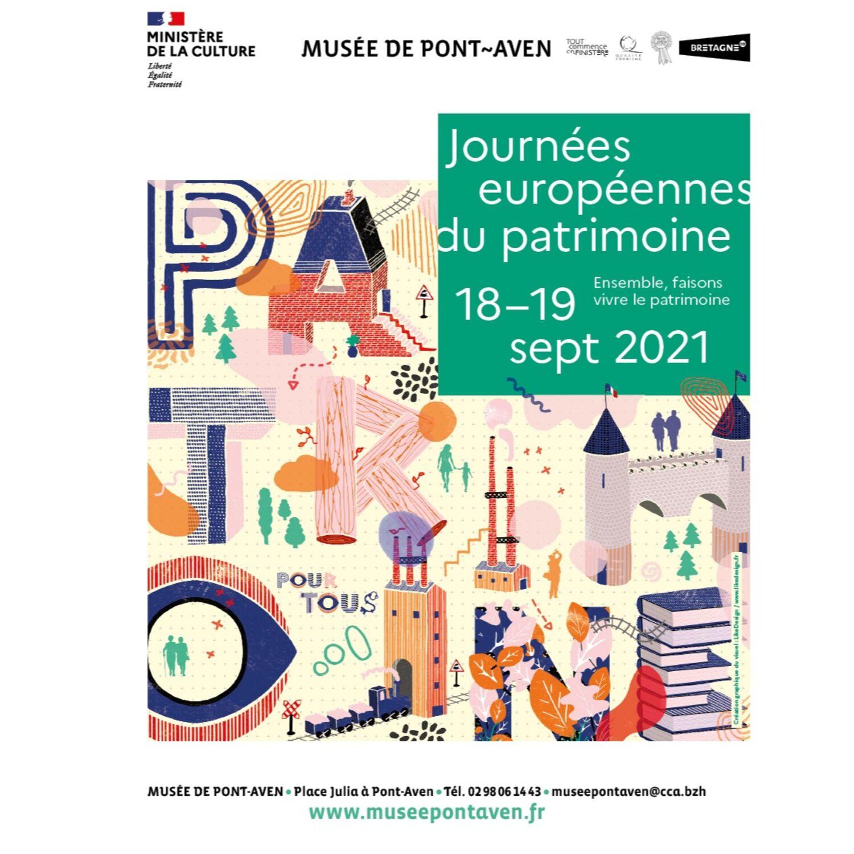 Journées Européennes du Patrimoine à Pont-Aven et Concarneau