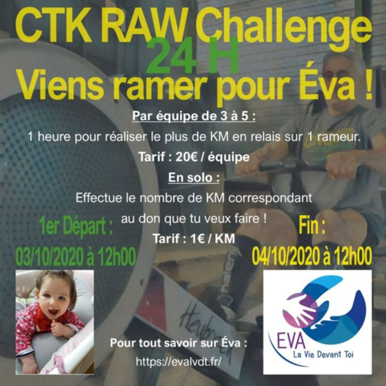 CROSS TRAINING KEMPER ORGANISE UN CHALLENGE RAMEUR POUR AIDER EVA