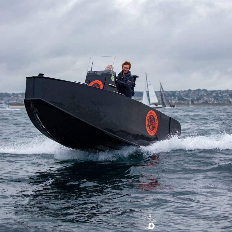 Le bateau 100% recyclable conçu et fabriqué dans le Finistère sud