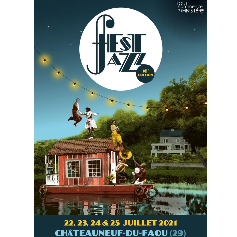 Fest Jazz à Chateauneuf Du Faou du 22 au 25 juillet