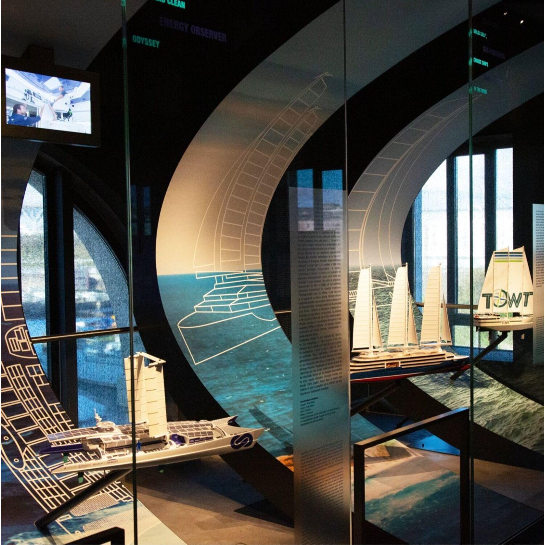 Visitez 70.8 la galerie des innovations maritimes à Brest