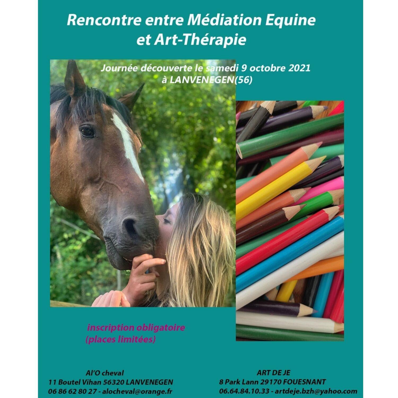 Médiation équine et art-thérapie le 9 octobre à Lanvénégen