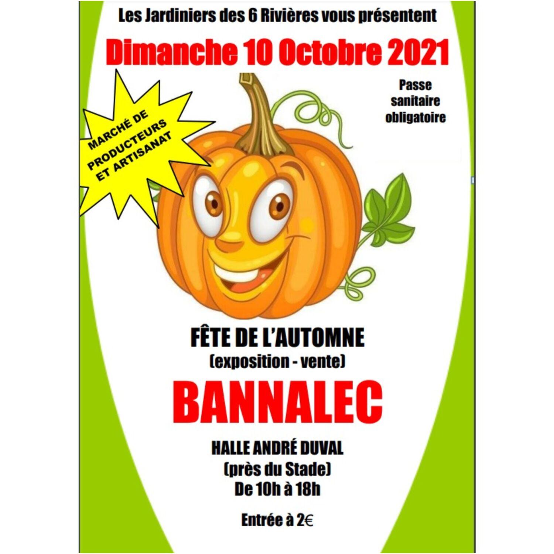 Fête de l'automne à Bannalec dimanche 10 octobre