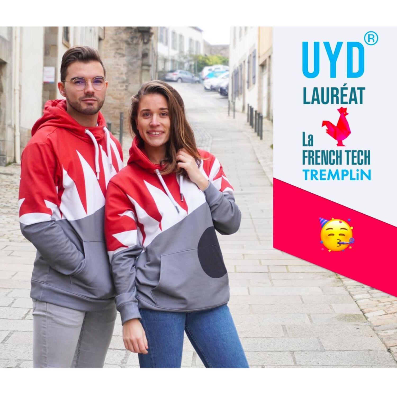 UYD-Colors : le sweat inclusif, recyclé et recyclable fabriqué à Quimper !