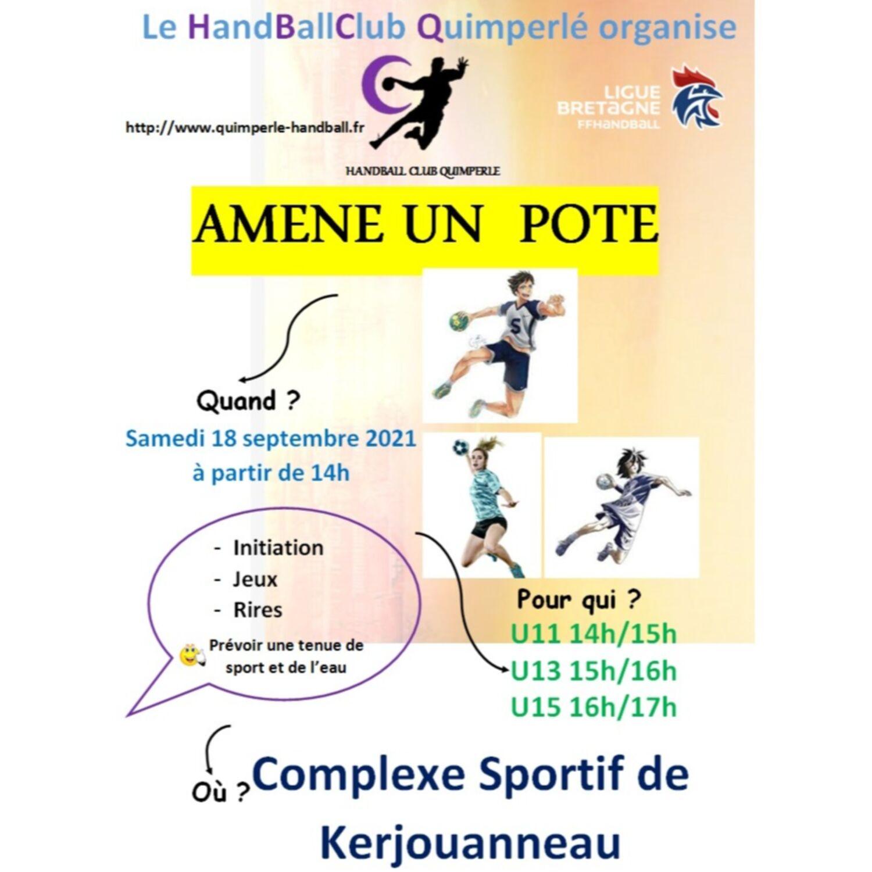 C'est la rentrée pour le Handball Club Quimperlé
