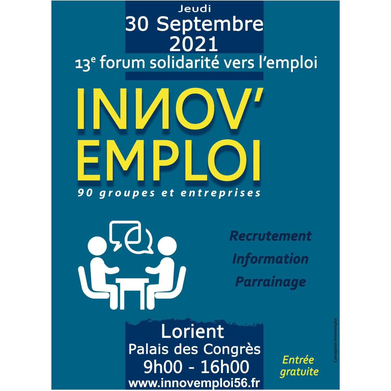 Forum solidarité vers l'emploi sur le pays de Lorient le 30 septembre