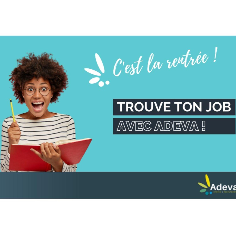 L'agence de travail temporaire ADEVA recrute