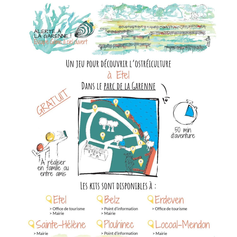 Escape Game autour de l'ostréiculture dans le Morbihan