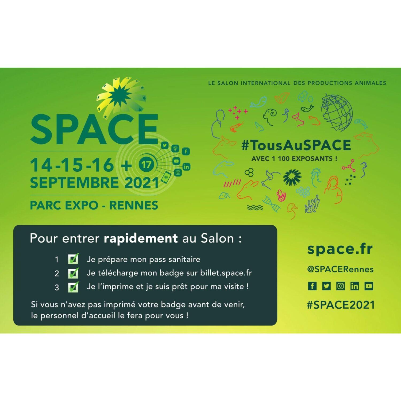 Rennes. Le SPACE prend ses quartiers au parc des expos