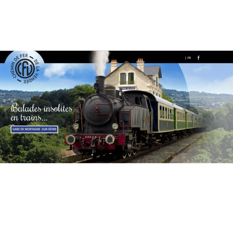 Le tourisme sur les rails. Le train à vapeur de Vendée