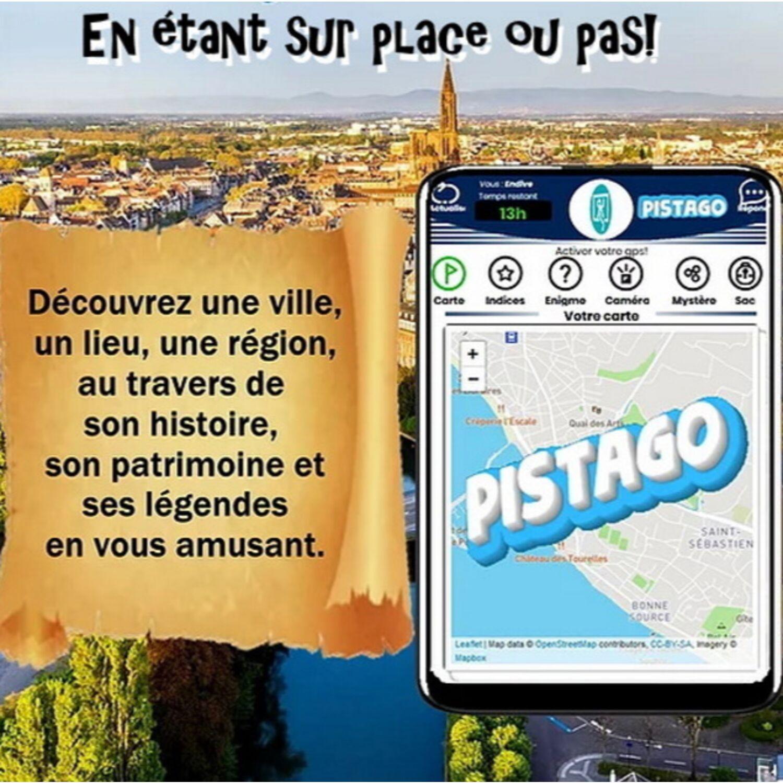 Pistago : le jeu de piste entre réalité et virtuel en Bretagne et...