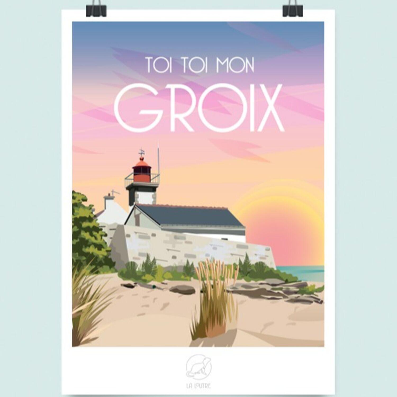 Studio La Loutre à Auray : leurs affiches régionalistes cartonnent !