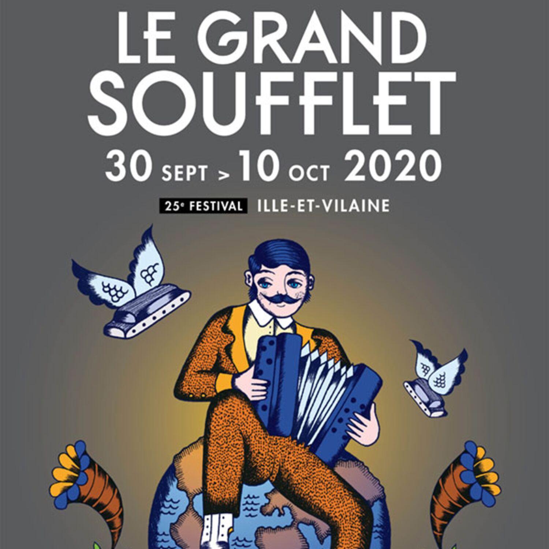 Festival le grand soufflet : 60 lieux à travers l'Ille et Vilaine !