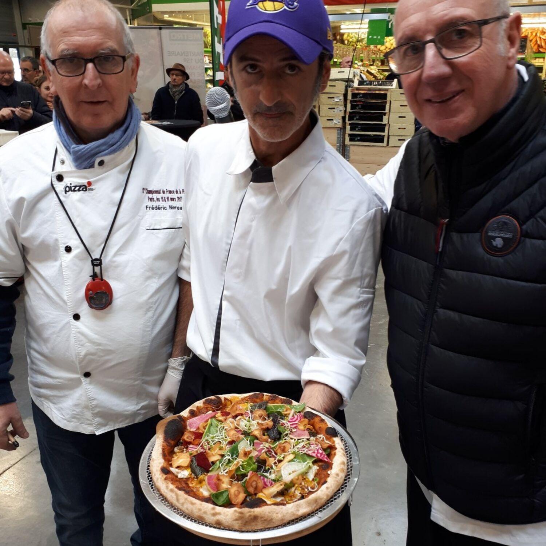 Nicolas Bodic, finaliste au championat de France de pizza