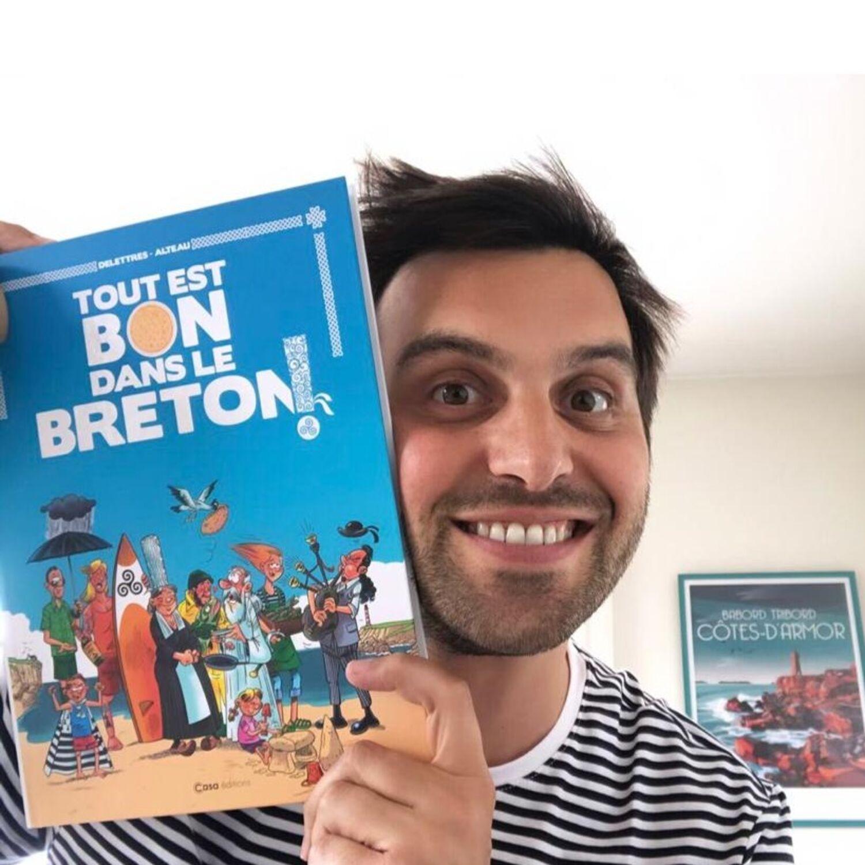 Tout est bon dans le breton - l'ouvrage humoristique de Fabien...