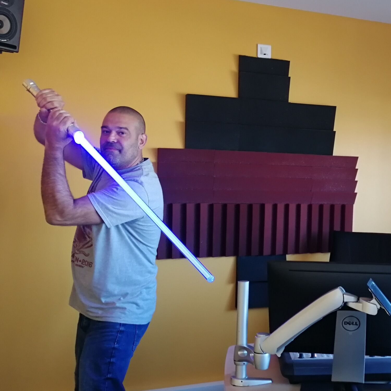 Initiation aux sabres lasers