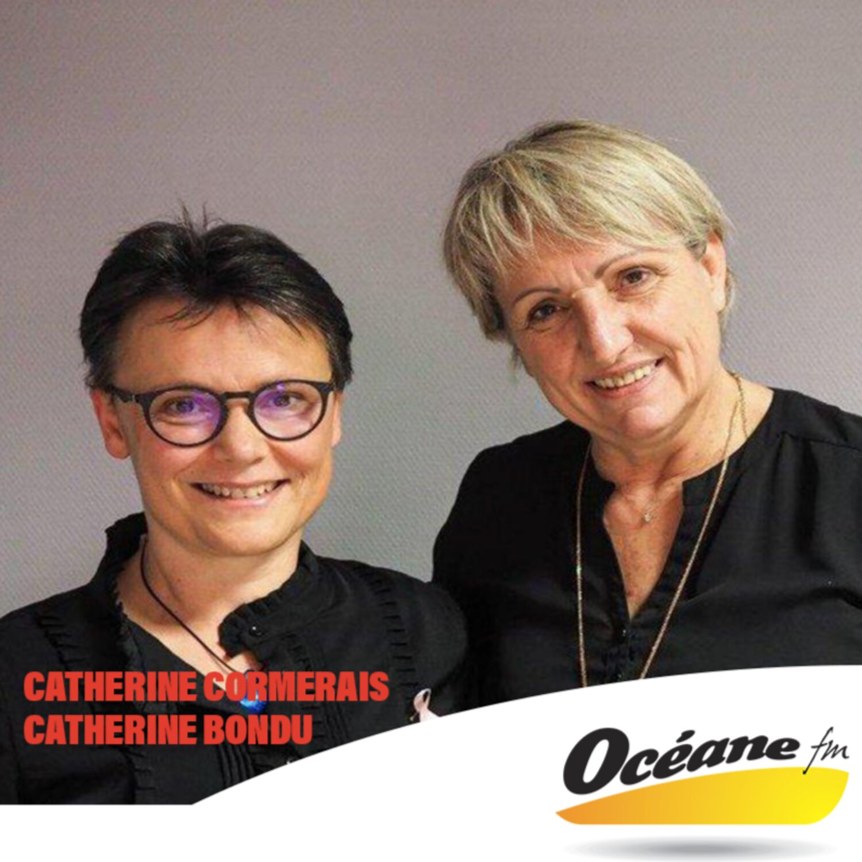 Catherine Cormerais et Catherine Bondu