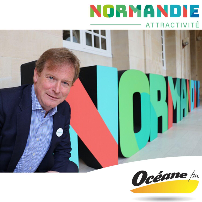 Michael Dodds, directeur général de Normandie Attractivité