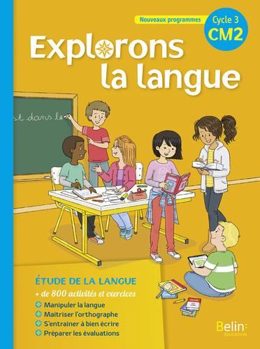 9782410000825 Explorons la langue CM2 EXTRAIT | Belin | v1