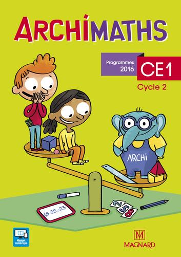 9782210503038 Archimaths CE1 Fichier (2017) - EXTRAIT | Magnard | v1