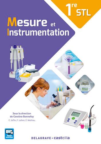 9782206303420 Mesure et instrumentation 1re STL (2017) - EXTRAIT   Delagrave   v1
