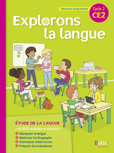 2018 EXTRAIT Explorons la langue CE2 | Belin | v1