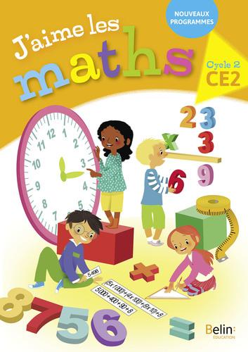 Extrait 2018 J'aime les maths CE2 enseignant | Belin | v1