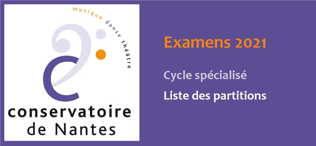 Examens CRR de Nantes
