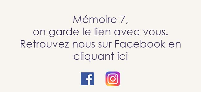 Mémoire 7, réseaux sociaux
