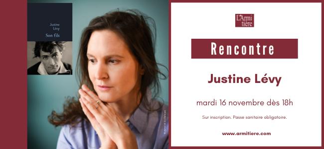 Rencontre avec Justine Lévy