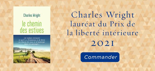Charles Wrigt, lauréat du prix de la liberté intér