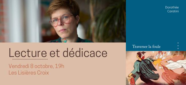 Lecture et dédicace de Dorothée Caratini