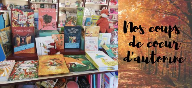 Notre sélection de livre jeunesse pour l'automne !