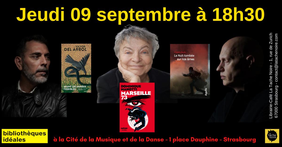 09 septembre : Histoire, mémoire et roman noir