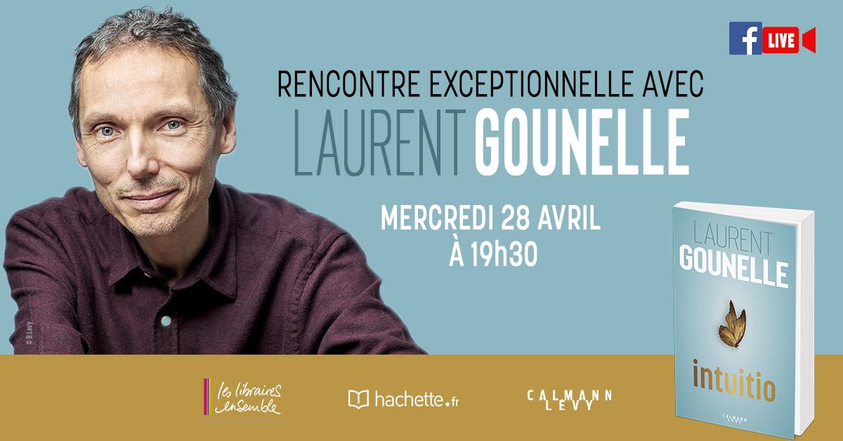 Laurent Gounelle en live mercredi 28 avril