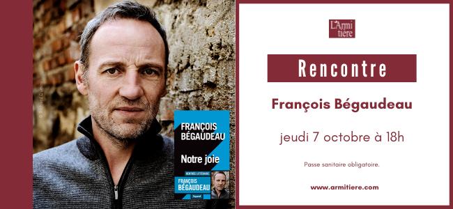 Rencontre avec François Bégaudau