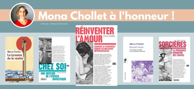 Une auteur à l'honneur : Mona Chollet !