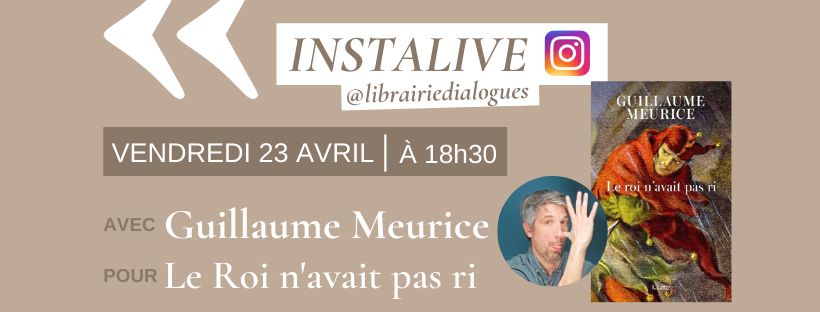 InstaLive avec Guillaume Meurice