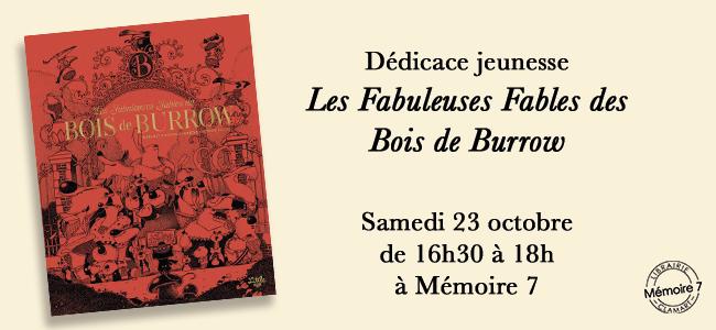 Dedicace Bois de Burrow