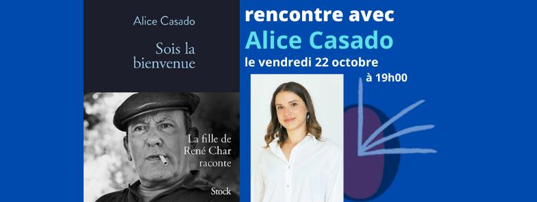 Rencontre avec Alice Casado