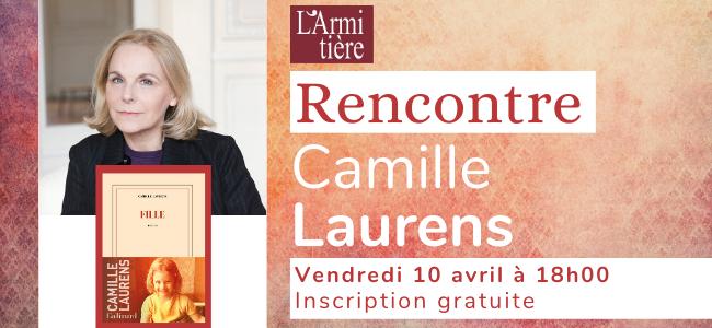 Rencontre avec Camille Laurens