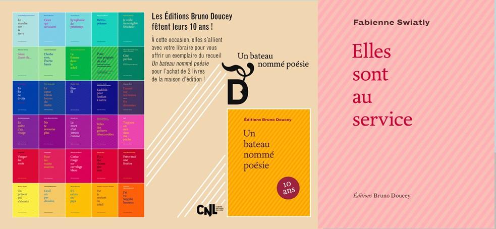 Les éditions Bruno Doucey fêtent leur 10 ans