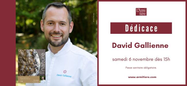 Dédicace avec David Gallienne