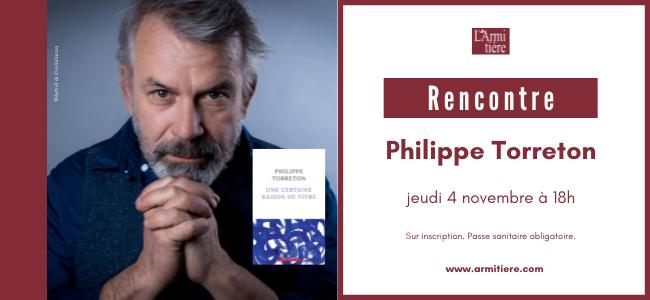 Rencontre avec Philippe Torreton