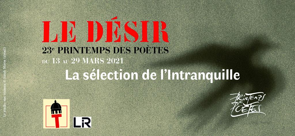 Le printemps des poètes 2021