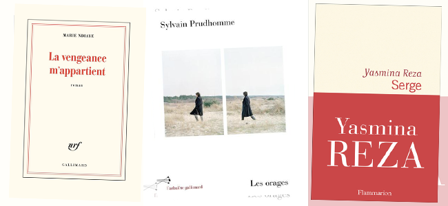 Nouveautés littérature francophone 2021